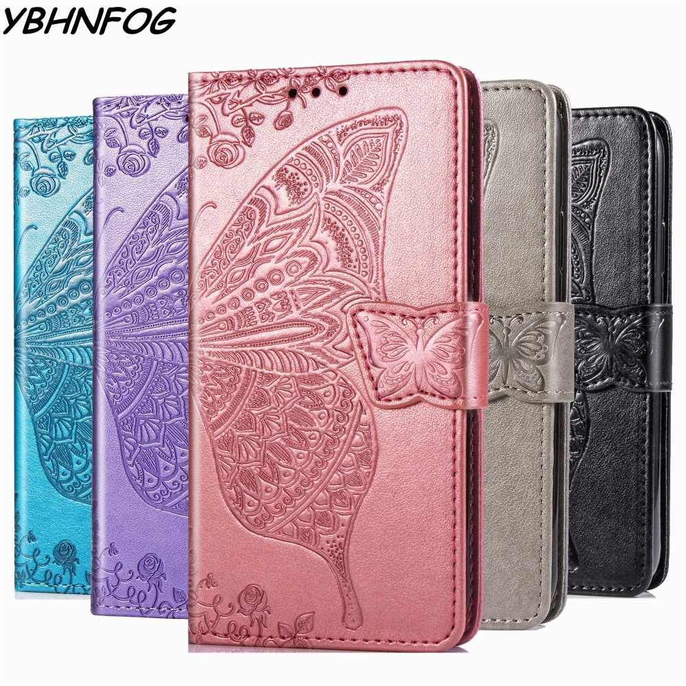Fundas con relieve 3D para IPhone 11 Pro Max 6 6S X 7 8 Plus cuero PU + Silicona funda tipo cartera para iPhone XR XS MAX