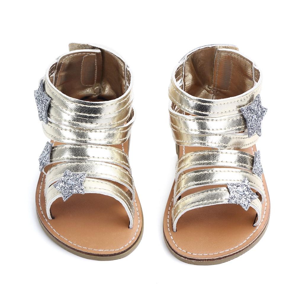 2020 Summer Baby Girls First Walker Infant Girl Summer Shoes Princess Baby Girls Barefoot Summer Shoes 11cm,12cm,13cm