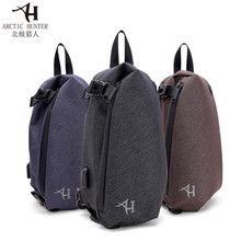Free Shipping Arctic Hunter New Male Chest Bag Waterproof Man Oxford Cloth Korea Style Messenger Shoulder For Teenager