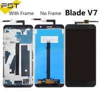 for ZTE Blade V7 Screen LCD Touch Digitizer For ZTE V7 LCD Screen for ZTE Blade V7 LCD display Assembly With Frame|Mobile Phone LCD Screens|   -