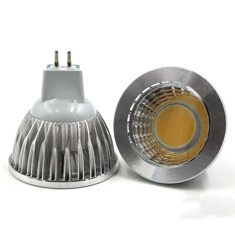 Супер яркий GU5.3 светодиодный Лампа AC 110V 220V 7 Вт 10 Вт 15 Вт GU 10 светодиодный затемнения MR16 12V COB Светодиодный точечный светильник Алюминий точечн...