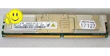 DDR2 2GB PC2-5300F-555-11-E0 M395T5750EZ4-CE66 2Rx4 667 FBD servidor do módulo de memória