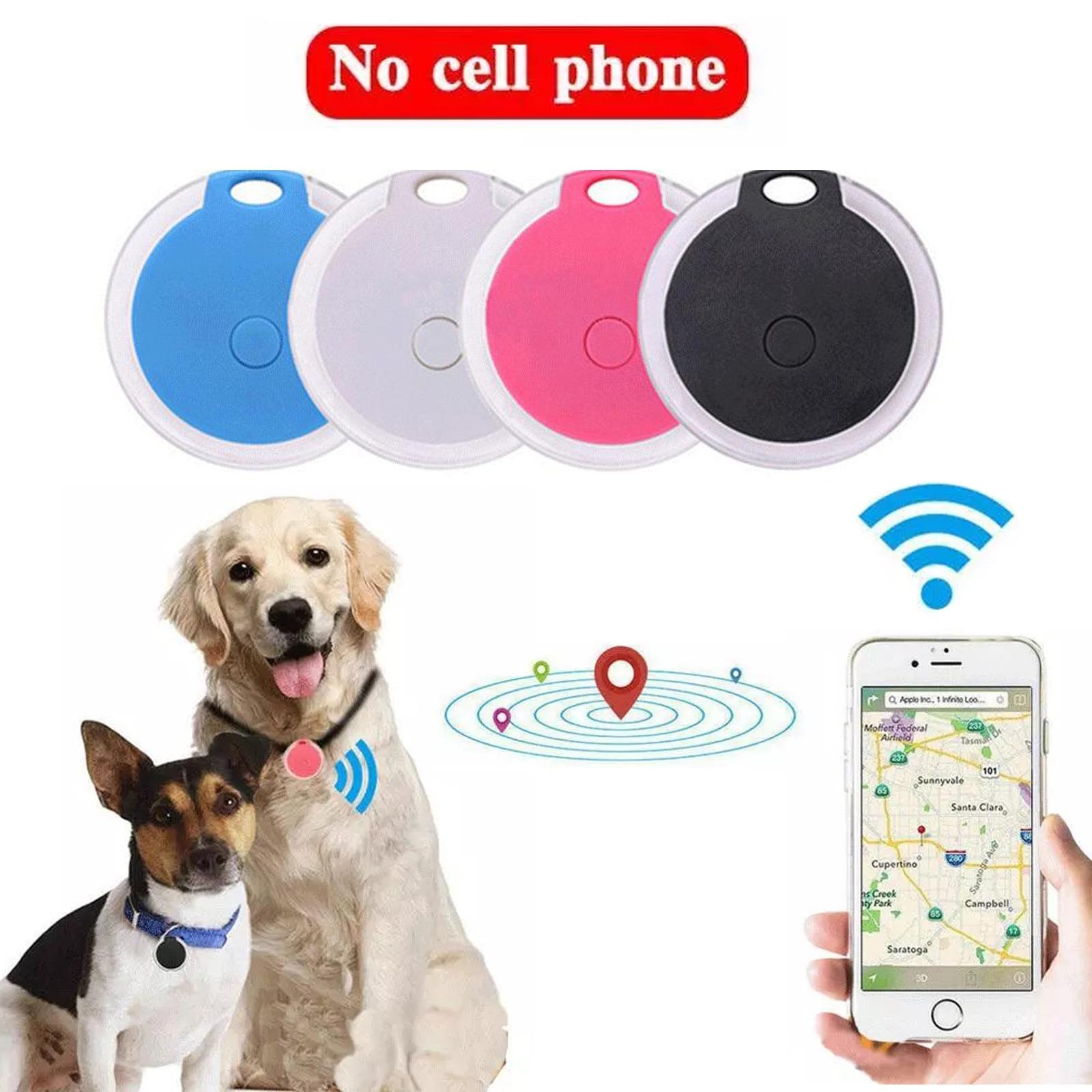 Pet Dog Cat Gps Tracker Smart Bluetooth Wireless Locator Anti-lost Tracker Alarm Spy Mini Tracking Finder Device Auto Tracker