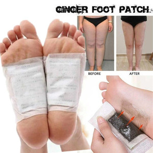 20pcs=(10pc Patches+10pc Adhesives) Detox Foot Patches Weight Loss Pads Body Toxins Anit Cellulite Herbal Adhesive Slim Patch