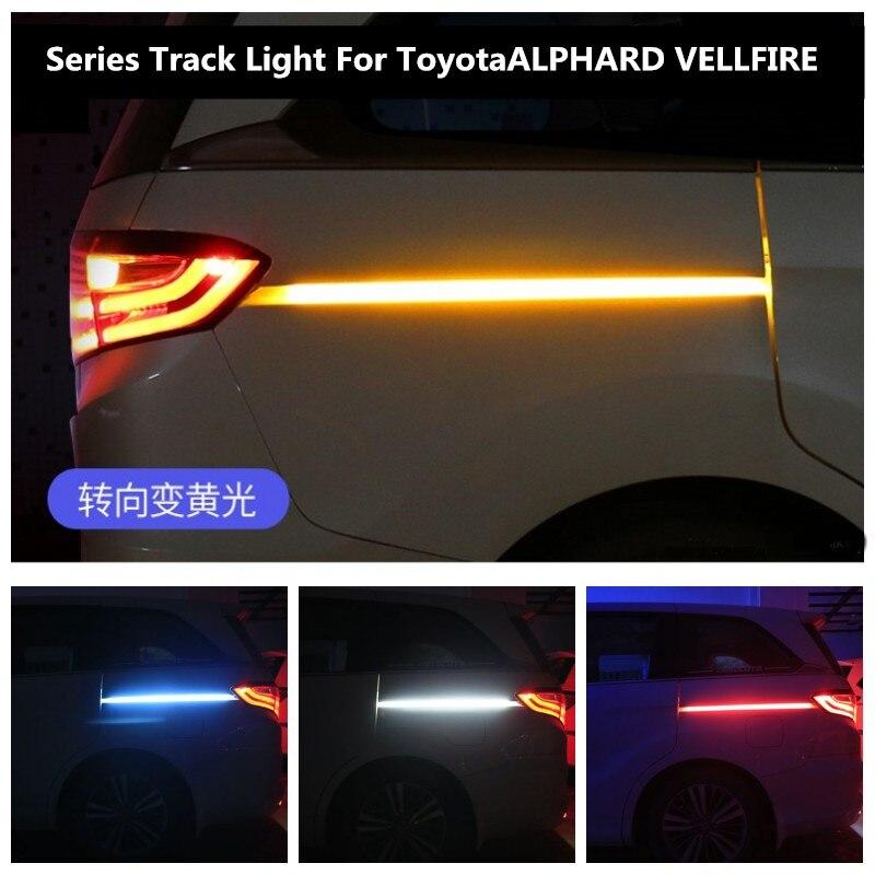 Car Turn Light LED For Toyota ALPHARD VELLFIRE Track Light Atmosphere Light Door Light
