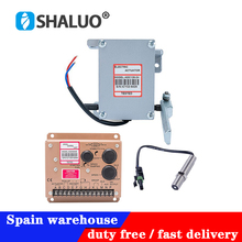 Di alta qualità attuatore ADC120 generatore Diesel Regolatore 1set ADC120 attuatore 3034572 pick up sensore di ESD5500E regolatore di velocità