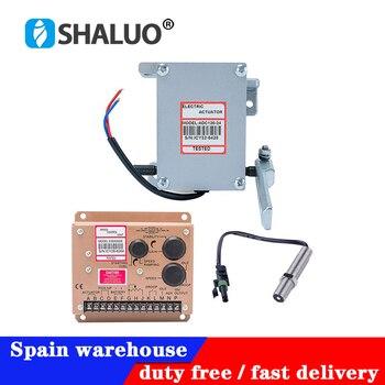 Yüksek kaliteli aktüatör ADC120 dizel jeneratör vali 1 takım ADC120 aktüatör 3034572 pikap sensörü ESD5500E hız kontrol cihazı