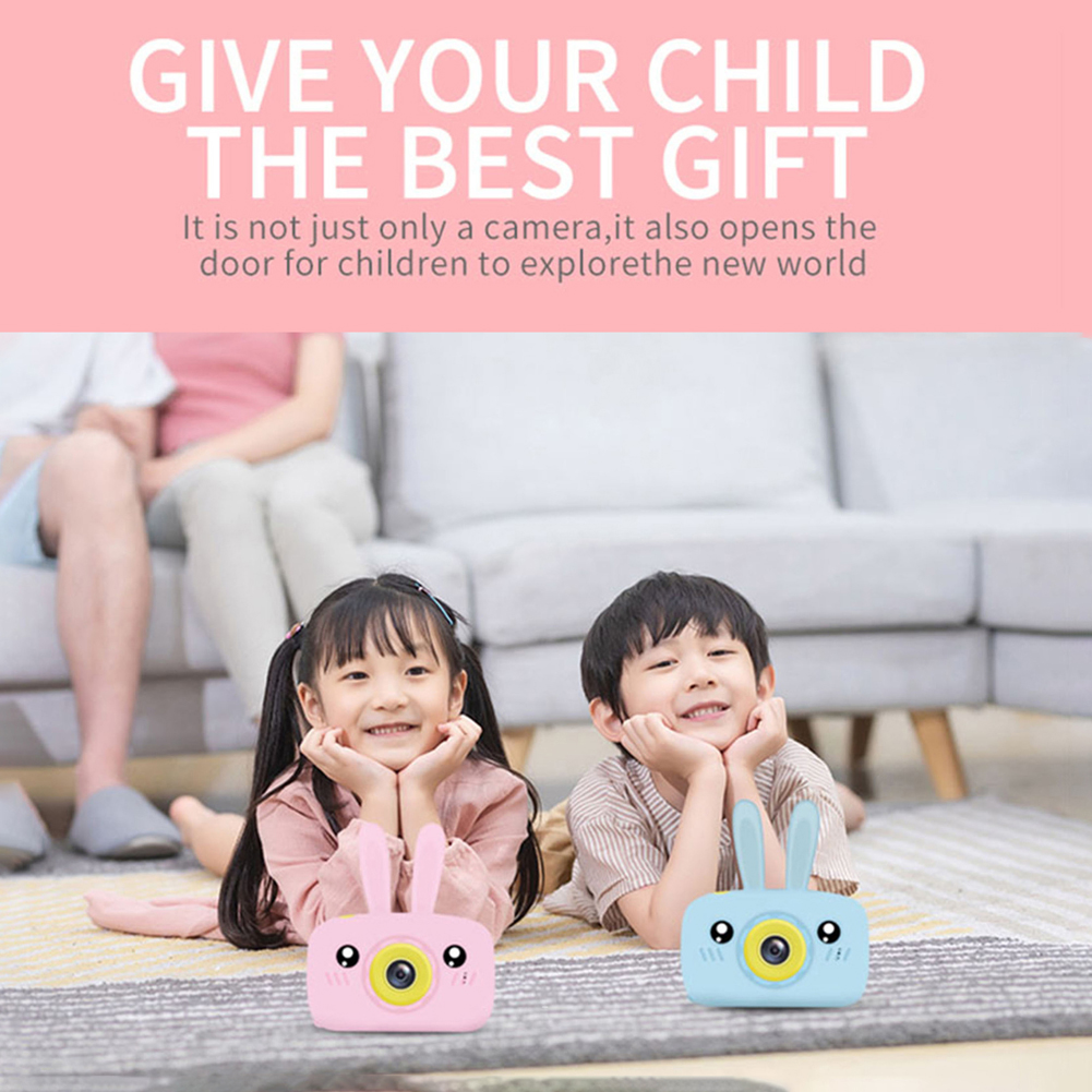 Hafa117fec3964d5bbf0e72cfdde943ccY Children's camera toy baby cute camera rechargeable digital camera mini screen baby children's educational toys outdoor games