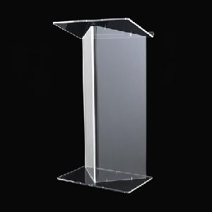 Custom Church  Transparent   Podium Pulpit Lectern Crystal Acrylic Pulpit