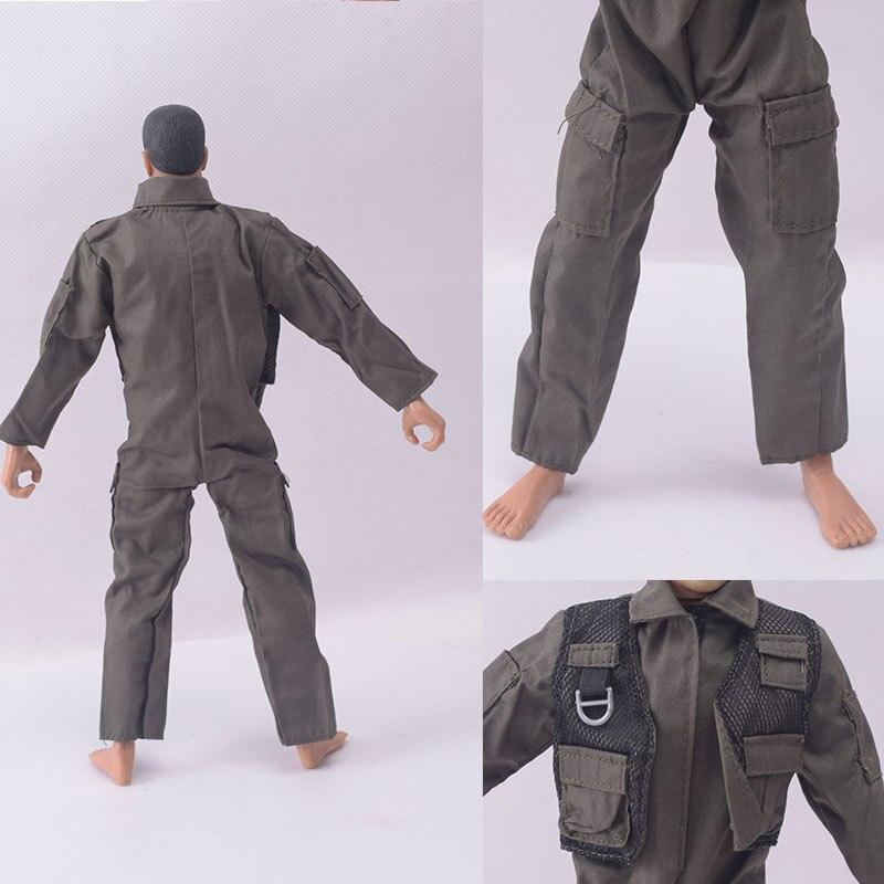 """1//12 Scala Soldato Accessori Vestiti Vestito della Armatura catena F 6/"""" Action Figure"""