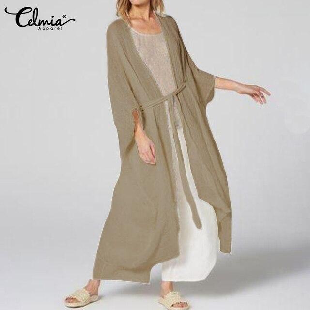 Vintage Kimono Long Cardigan 1