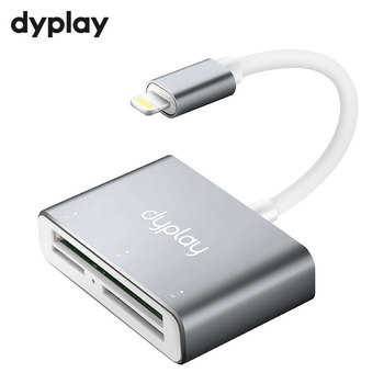 3 In 1 OTG Memory Card Reader SD CF TF To Lightning Port Adapter For Data Transfer To iPhone iPad iPod Extension Headers