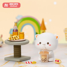 Mitao Cat 2 Season Lucky Cat Cheap Cute Cat Blind Box Toys Cartoon Figure Doll Hand Office Birthday Gift
