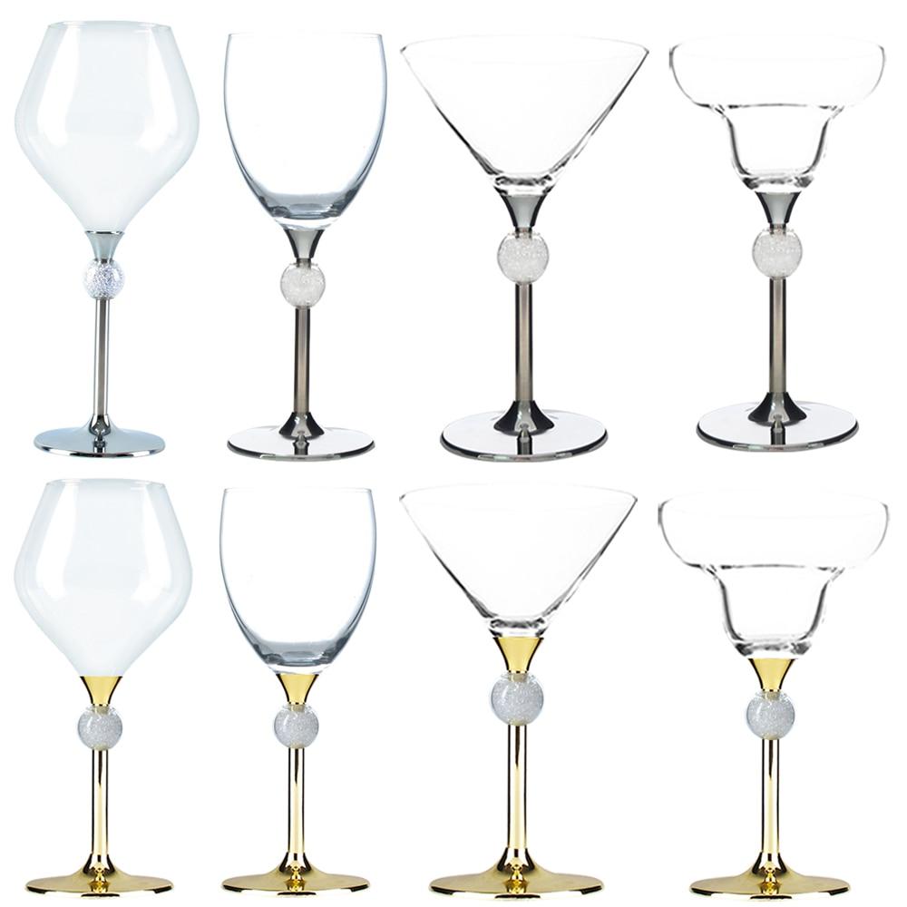 2pcs Toasting Decoration Bride/&Groom Party Wedding Mark Wine Glass Decor