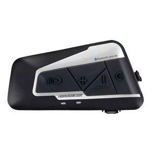 Image 3 - Переговорное устройство HEROBIKER мотоциклетное беспроводное, 2 комплекта, 1200 м, FM радио