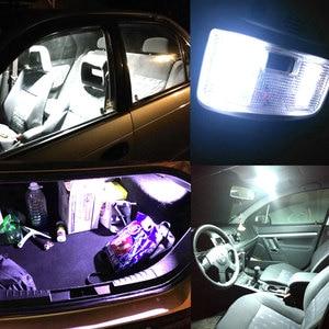 Image 5 - 2x branco 24 36 48smd cob led painel de leitura automática mapa lâmpada painel luz cúpula festoon ba9s 3 adaptador dc 12v auto led cob luzes led