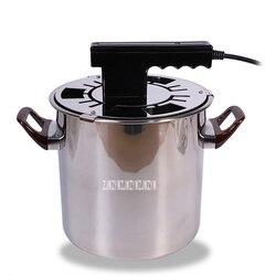 Gospodarstwa domowego elektryczny Grill maszyna do bezdymne ze stali nierdzewnej elektryczny grillowany kryty bezdymny Grill 220V 650W JQDKL w Rożny od AGD na