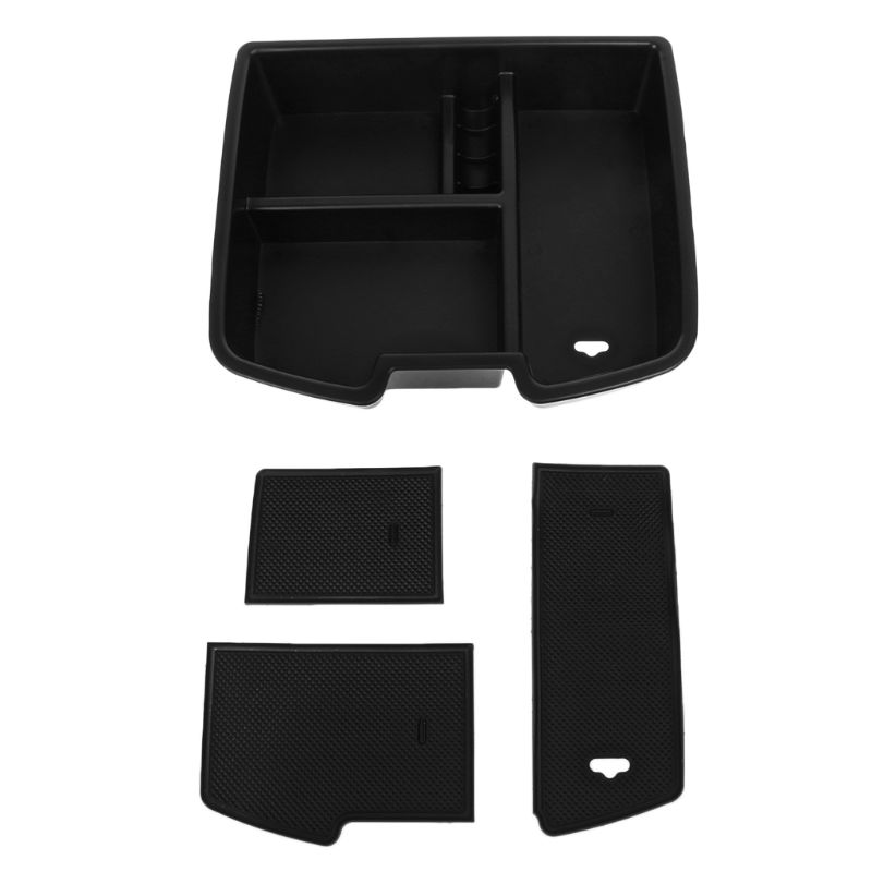 For Chevrolet Avalanche GMC Yukon Center Console Organizer Armrest Storage Box