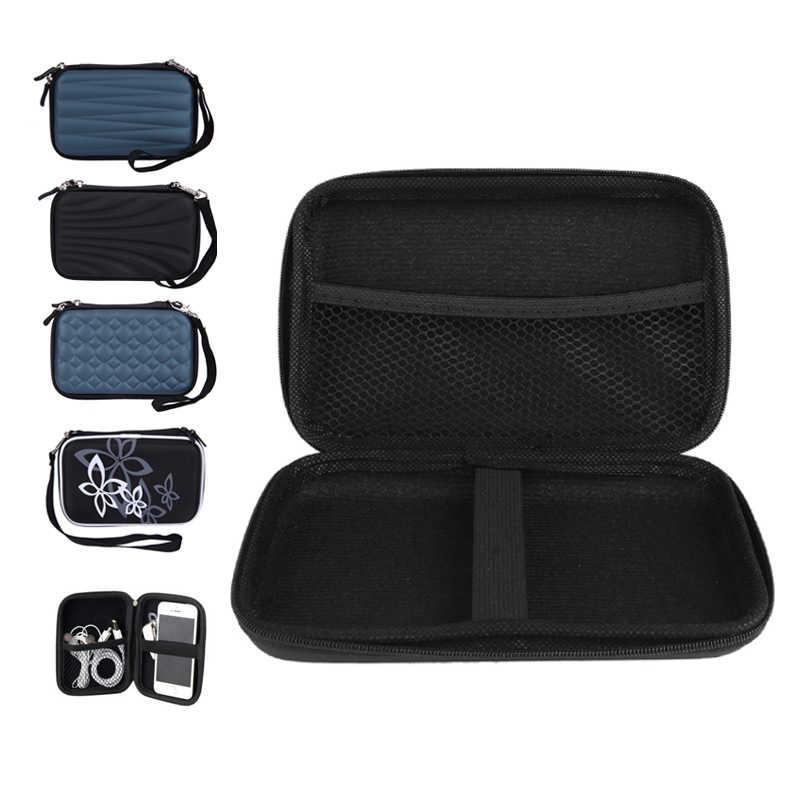 """2.5 """"3.5"""" HDD Bag zewnętrzne Usb dysk twardy Carry Usb Cable skrzynki pokrywa etui torba na słuchawki na PC Laptop obudowa do twardego dysku"""