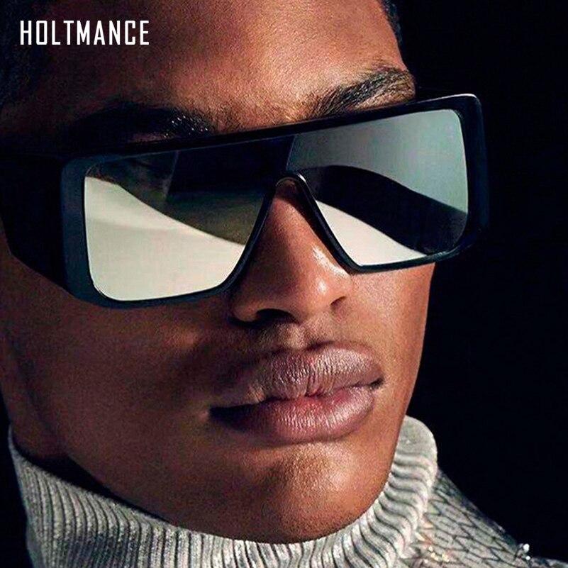Fashion Oversized Men Sunglasses Women Driving Shades Multi Lens Square Sun Glasses Conjoined Goggles Retro Outdoor Gafas De Sol