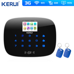 W193 3G 4G WIFI PSTN GSM SMS Hause Alarmanlage LCD GSM SMS Touch Screen Alarm Home Security intruder System APP Kontrolle