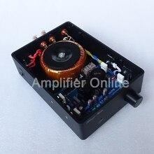 1PCS Champagne Gold/Black Music box A1 MARANTZ HIFI HDAM Circuit Power Amplifier 50W+50W AP42