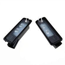 SCJYRXS Qty2 LED luce targa per Beetle Golf MK7 Passat B7 Eos CC Scirocco 35D 943 021 A 1K8943021C 1K8943021C