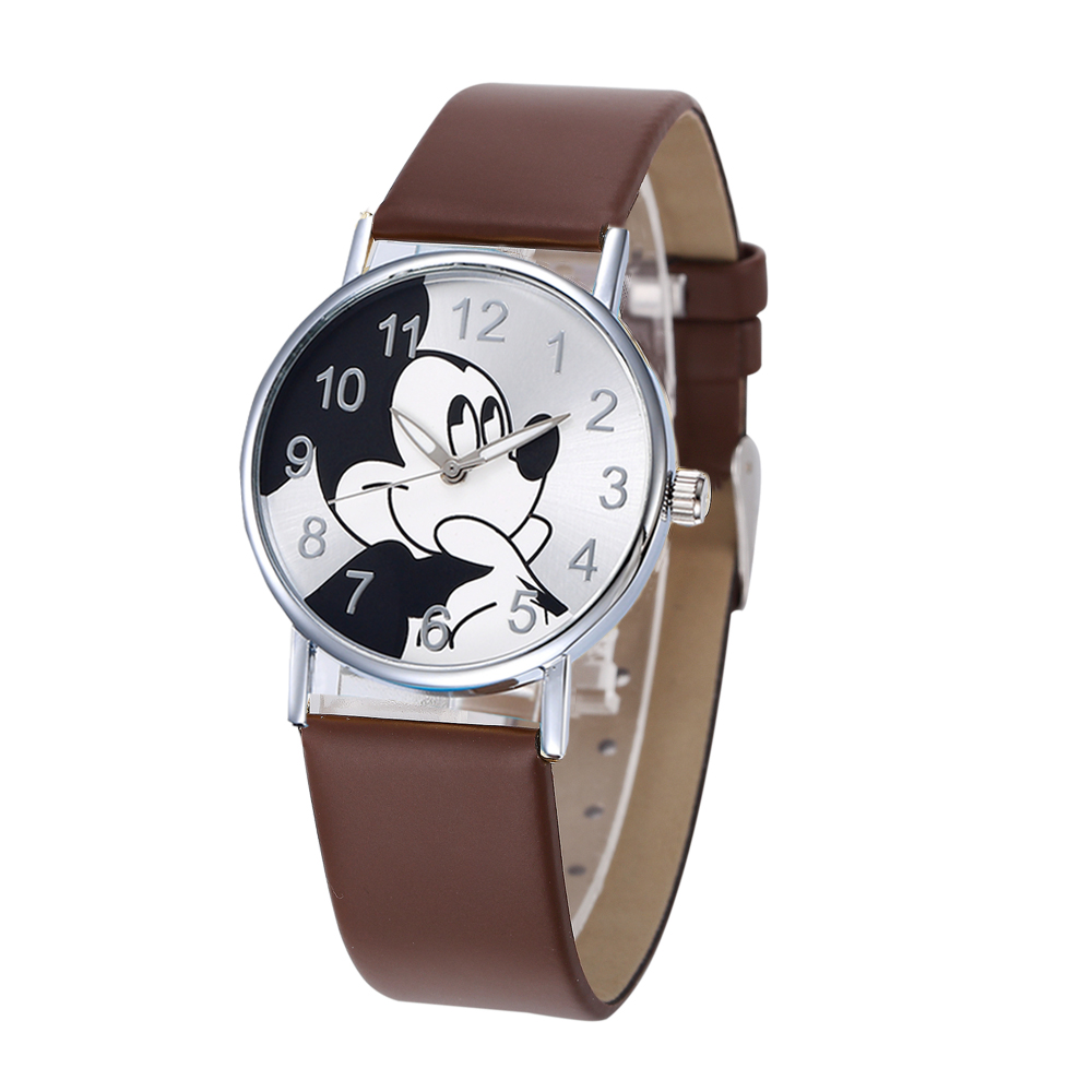Women Watch 2019 Trend Ladies New Fashion Quartz Children Watches Casual Cartoon Leather Clock Girls Kids Saats Montre Femme