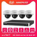 Hikvision 8ch система безопасности POE 8MP 4 шт. наружная IP камера Система Видеонаблюдения POE NVR комплект 8MP водонепроницаемая Поддержка P2P