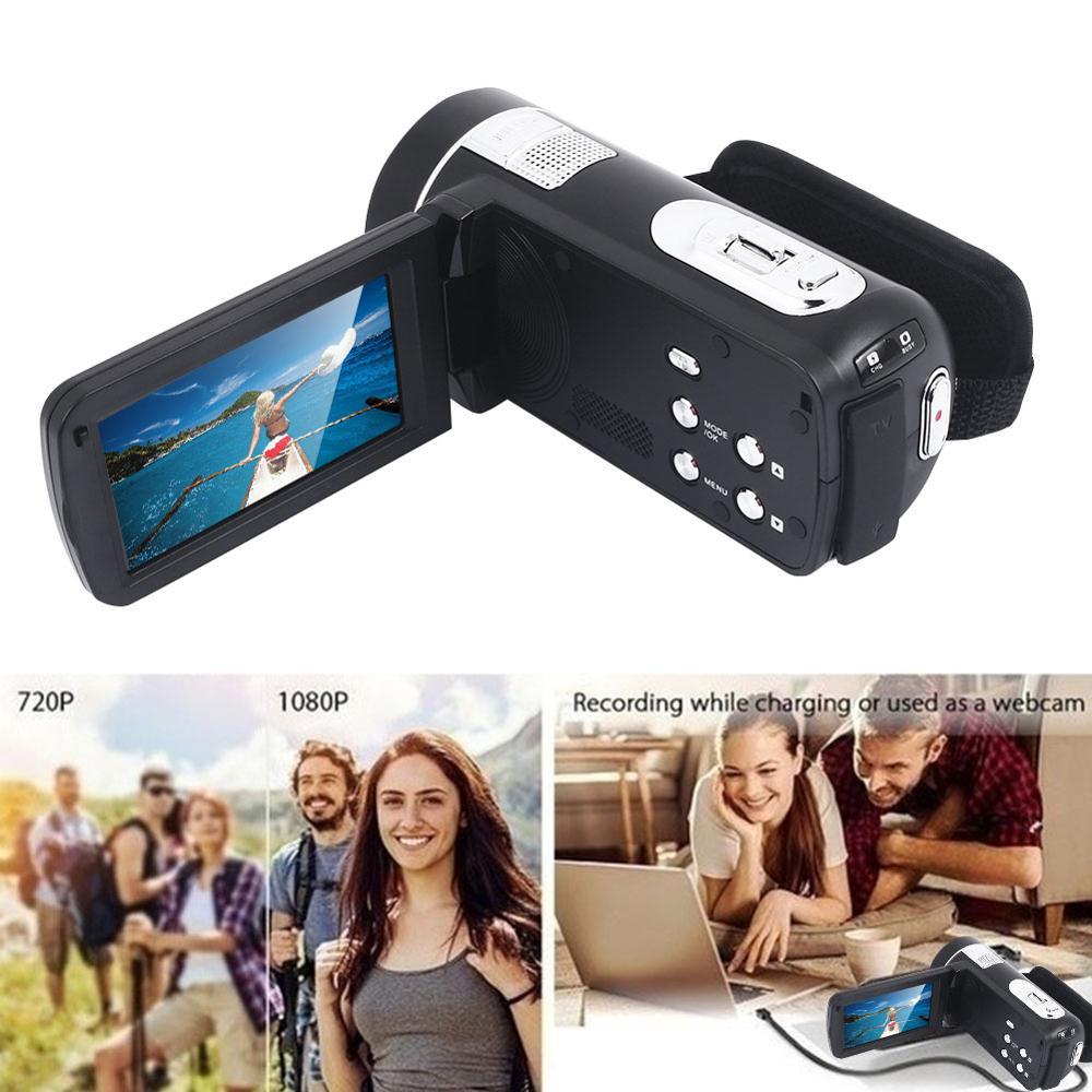 Cewaal P7 Full HD 4K 1080P Video Kamera Professionelle Nacht Vision Anti Schütteln Digitale Foto Vlog Kamera camcorder Flow Stabilisator - 3