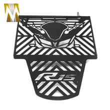 Radiator Grille Guard Cover Protector for Yamaha R15 V3 Motorcycle Water Tank Guard Protective Cover for Yamaha R 15 V 3 Parts цена