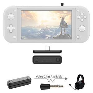 Image 1 - Беспроводной аудио адаптер GuliKit NS07 Pro Route Air, Bluetooth передатчик с поддержкой голосового чат, USB C адаптер для Nintendo Switch PS4