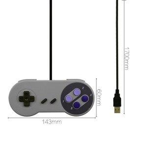 Image 4 - Controle de jogos usb para snes, joystick para computador windows, pc, mac, controle de videogame, 1 peça