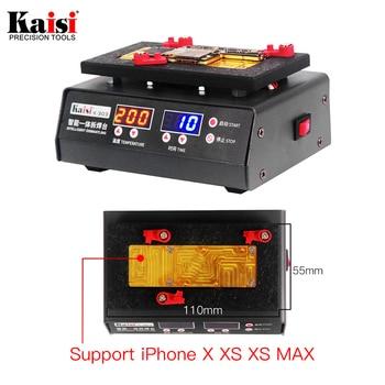 Plataforma De Desmontaje De Separación Rápida De 200 Grados Para Placa Base Máxima De IPhone X XS Tabla De Calentamiento De Temperatura Estratificada