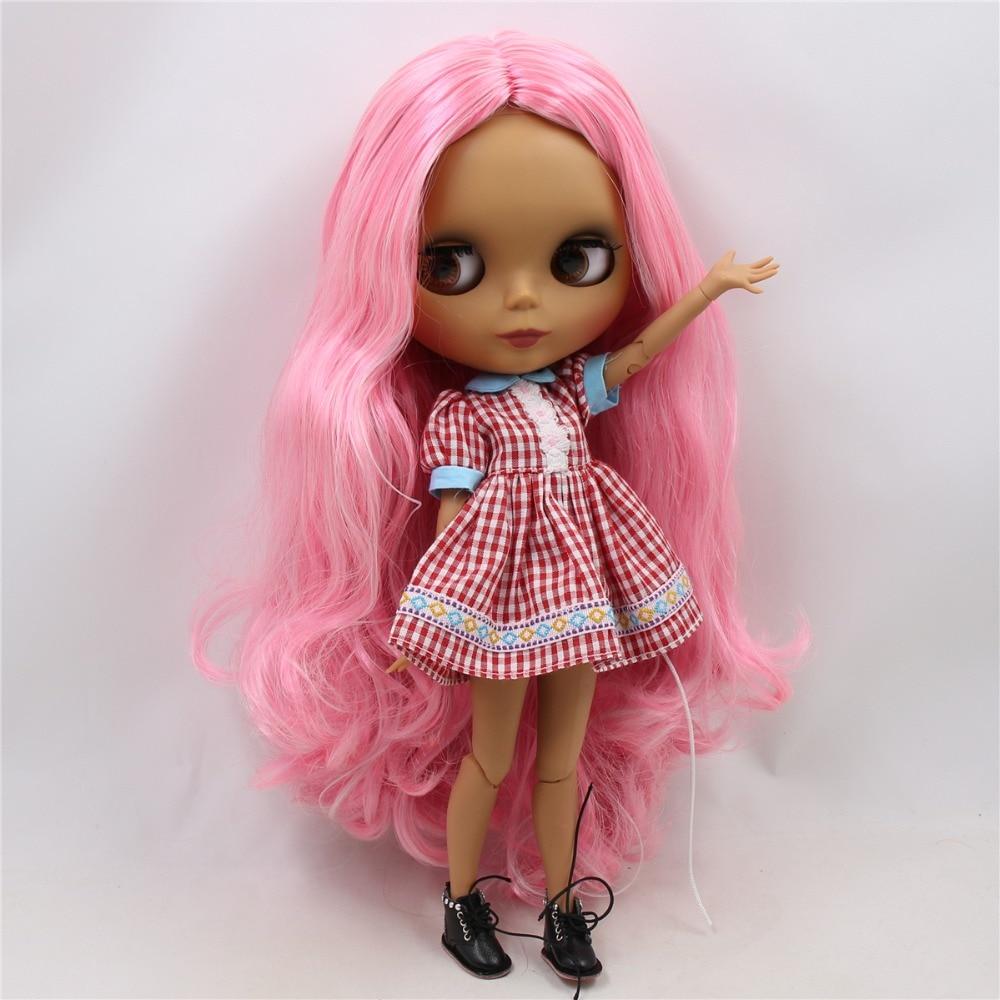 Emery – Premium Custom Blythe Doll with Cute Face 1