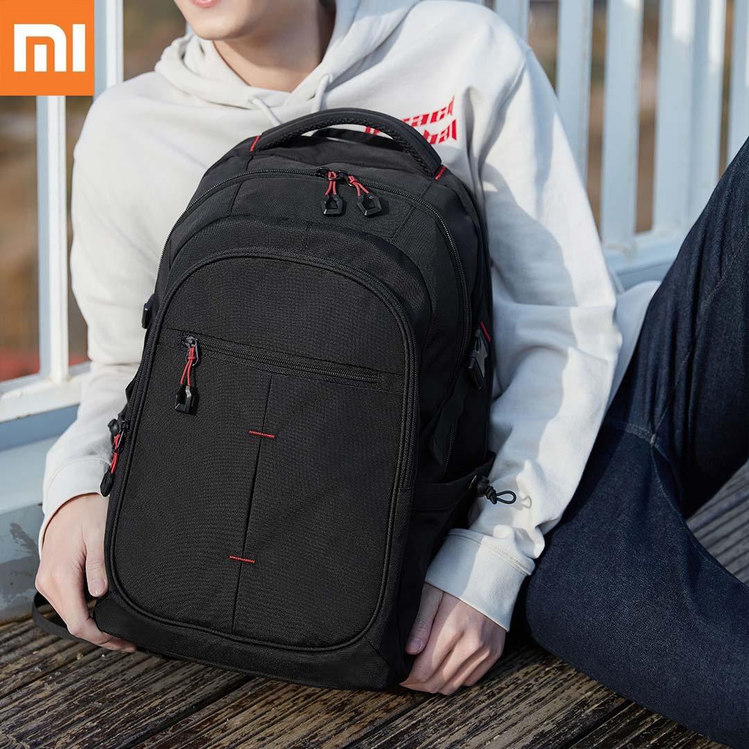 UREVO Man 25L Large Capacity Multifunction Backpack Teenager Nylon Waterproof Travel Backpack For 15 inch Laotop Bag mochila