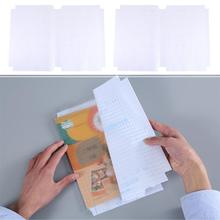 Film Book-Cover Self-Adhesive Transparent 3sizes Nubuck-Material Slipcase ABS Safety
