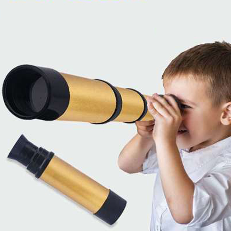 Pirate Telescope Kaleidoscope Outdoor Toys For Kids Toddler Children Educational Science Portable Monocular Magnifying Glass