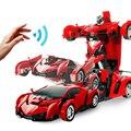 Радиоуправляемая машинка-трансформер  робот-машинка  игрушки  электронный пульт дистанционного управления  транспортные средства с одной ...