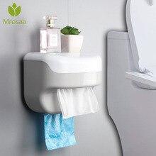 Горячая настенный всасывающий диспенсер для салфеток коробка-держатель для салфеток бумажный лоток рулон водонепроницаемый Туалет бумажная полка держатель для ванной комнаты