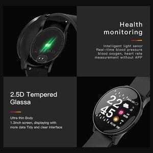 Image 5 - Colmi relógio inteligente cw8 mulheres dos homens pressão arterial oxigênio monitor de freqüência cardíaca esportes rastreador smartwatch ip68 conectar ios android