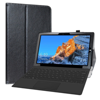 "Case  For  11.6"" Teclast X4 2 in 1 Laptop Tablet Folding Stand PU Leather cover with Magnetic closure