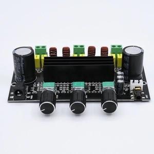 Image 3 - 80W+80W+100W 2.1 Channel TPA3116 digital Power Stereo Amplifier Board With Two NE5532 OP AMP TPA3116D2  Bass Subwoofer Amplifier