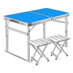 Platz Falten Tische, Push Klapptische, Ausstellung Tische, Picknick Tische, Im Freien Klapptische und Stühle