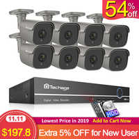 H.265 8CH 5MP HD POE NVR Kit Sicherheit CCTV System Motion Erkennen Zwei Weg Audio AI IP Kamera IR Outdoor p2P Video Überwachung Set