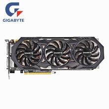 Gigabyte GTX 970 4GB Graphics Card NVIDIA GTX970 4GB Video Cards GPU 256Bit Desktop PC Screen Computer Game Map HDMI VGA Board