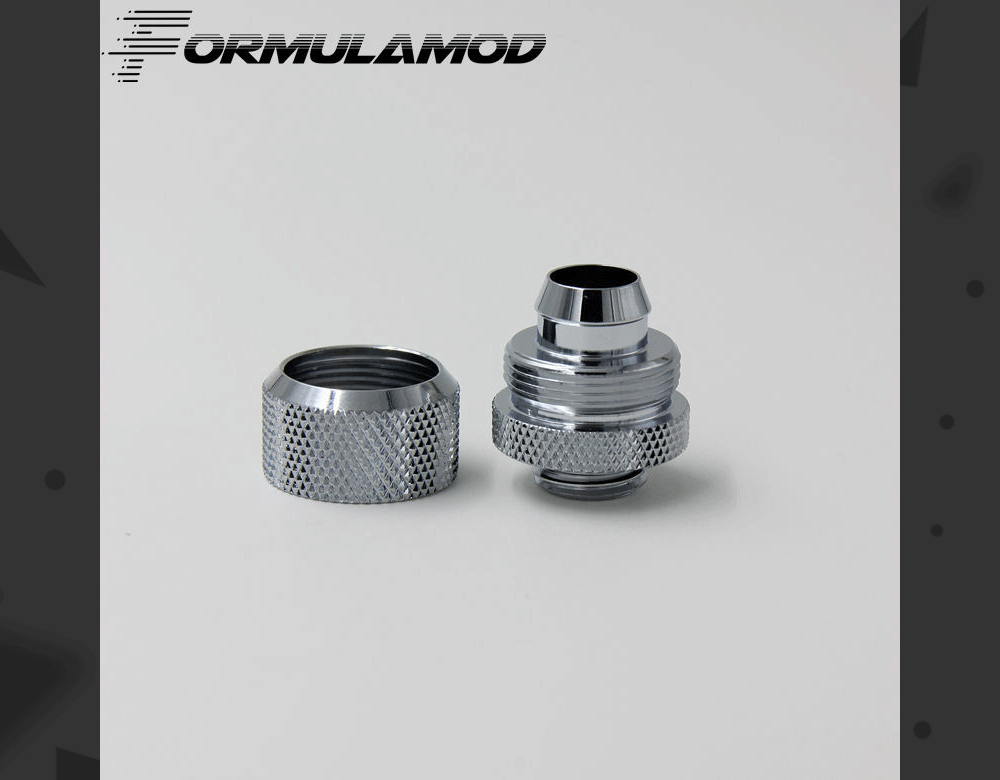 "FormulaMod Fm-3FH, 3/8""ID*5/8""OD 10x16mm Soft Tube Fittings, G1/4"" Fittings For Soft Tubes"