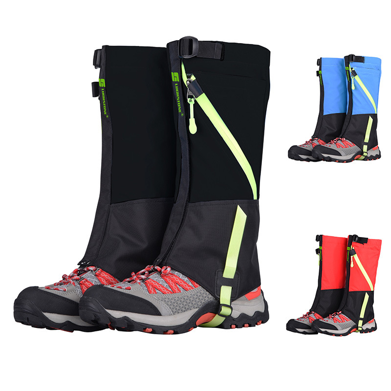 Ji Rock Children Skiing Moisture-Proof Gaiters Mountain Climbing Snowfield Hiking Waterproof Booties Kids Play With Snow Moistur