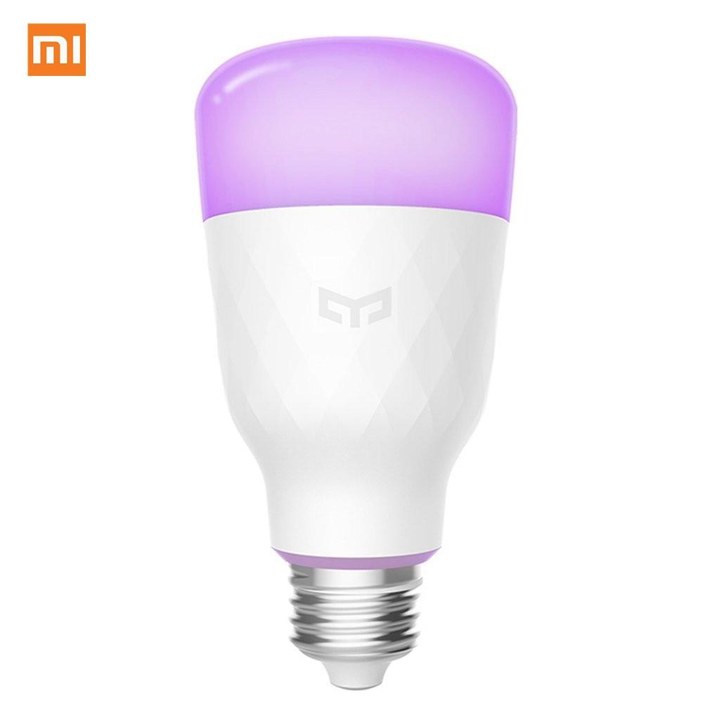 [ English Version ] Xiaomi Yeelight Smart LED Bulb Colorful 800 Lumens 10W E27 Lemon Smart Lamp For Mi Home App White/RGB Option