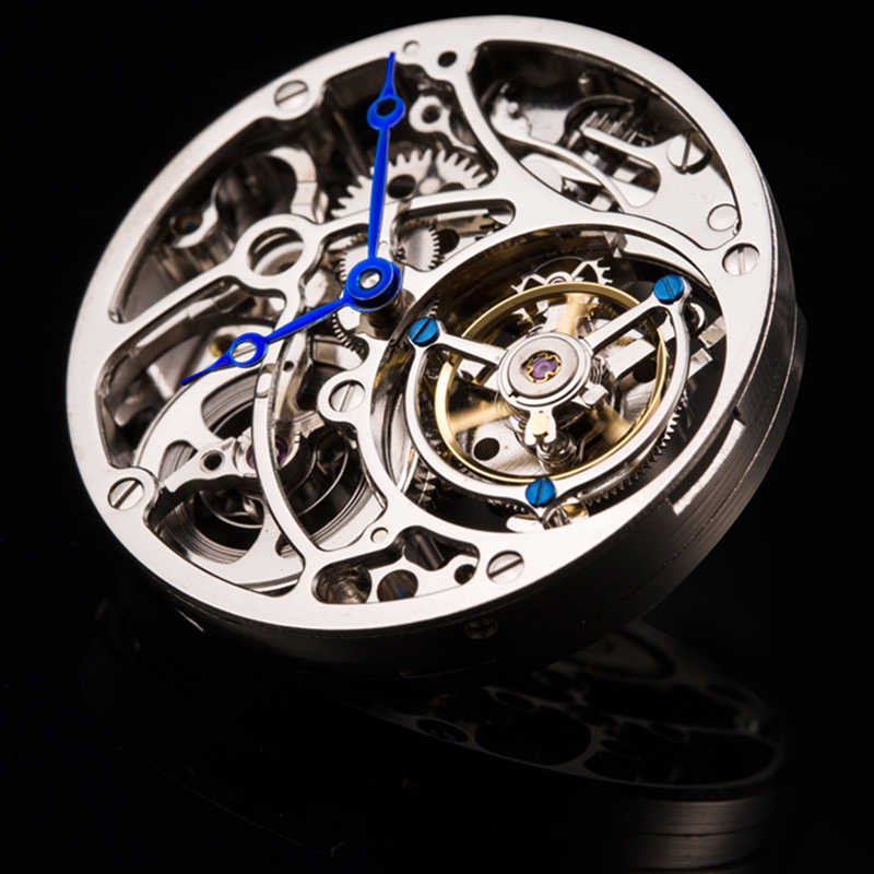 GIV 2020 ใหม่Original Tourbillonนาฬิกาผู้ชายSapphire Mechanical Hand Wind Mensนาฬิกาแบรนด์แฟชั่นชายRelogio Masculino